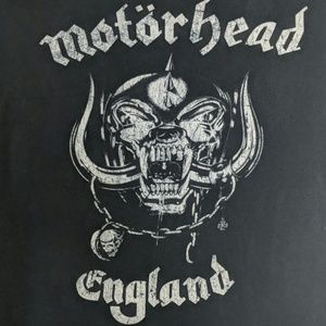 unknown Shirts - Motorhead England graphic tee